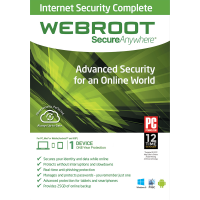Webroot SecureAnywhere Internet Security Complete - 1-Year / 1-Device