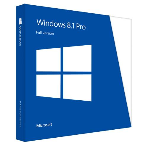 Microsoft Windows 8.1 Professional 64-bit