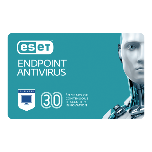 ESET Endpoint Antivirus - 1-Year / 50-99 Seats (Tier D)