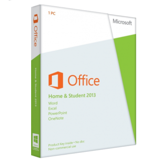 microsoft office home and student 2013 1 user north america